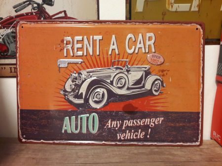 fém kép: rent a car