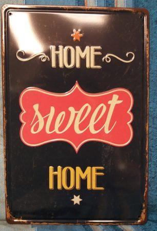 Fém kép : Home sweet