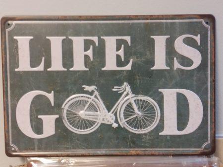 fém kép: life is good