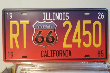fém kép: route 66