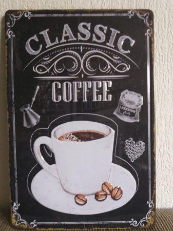 fém kép: classic coffee