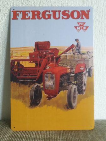 fém kép: Ferguson traktor