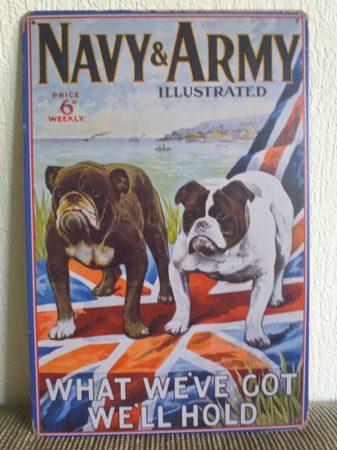 fém kép: navy and army