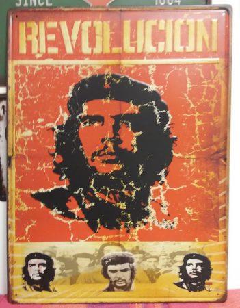 fém kép: Revolution Che