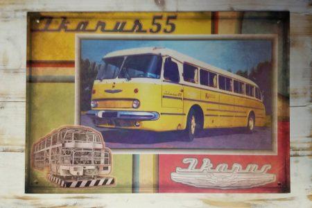Ikarus 55 busz kép