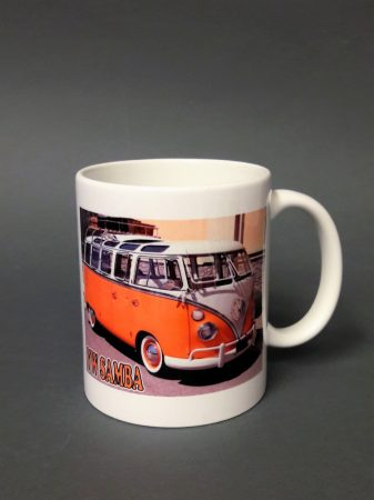 Volkswagen transzport hippi busz pohár
