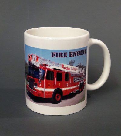 Tűzoltó autó  pohár 2