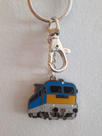 Szili vonat kulcstartó