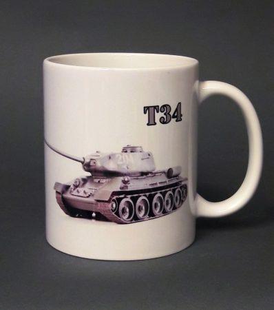 t34 tank pohár