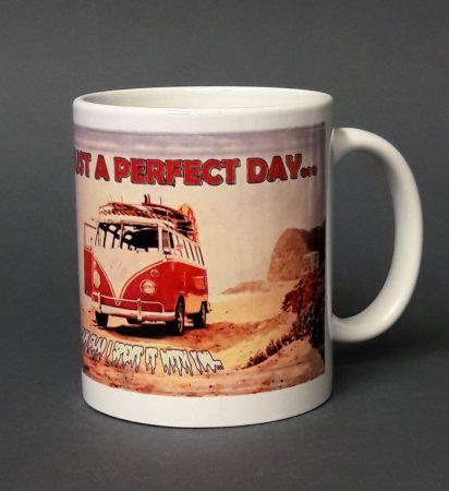 Volkswagen busz pohár