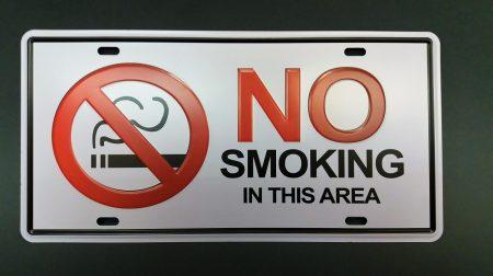 Fém kép : No smocking