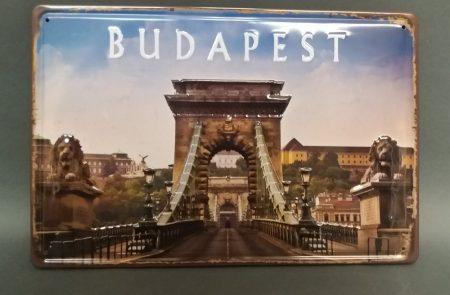 Fém kép: Budapest 2