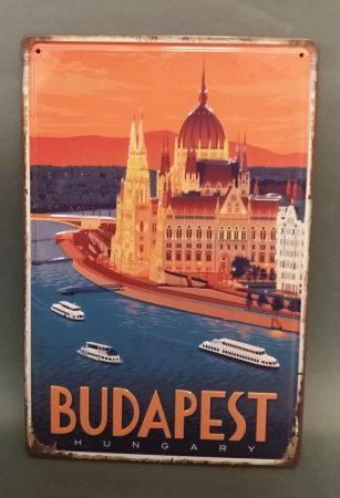 Fém kép: Budapest 3