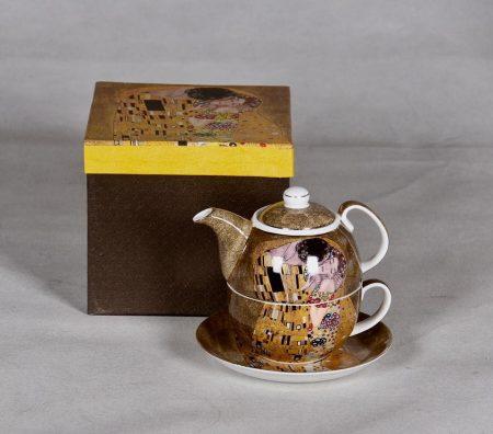 Klimt teás kiöntő és csésze