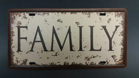 Fém kép: Family