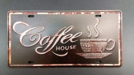 Fém kép: Coffee hause