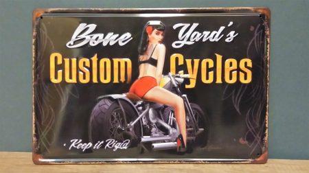 fém kép: Custom cycles