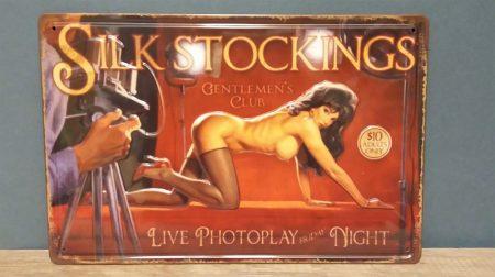 fém kép Silk stockings