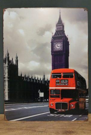 Fém kép: London