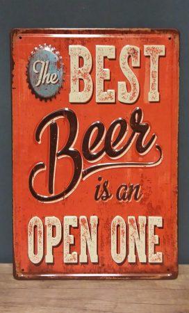 fém kép: Best beer ...