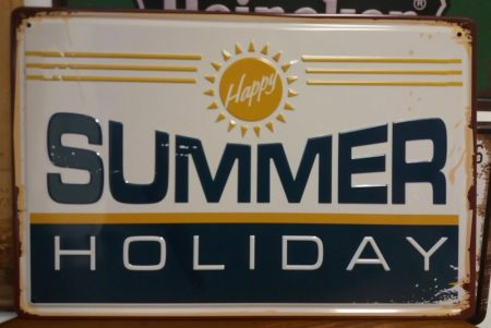 Fém kép: Summer holiday