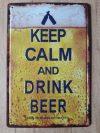 fém kép: Drink Beer