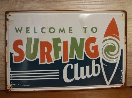 fém kép: Surfing Club