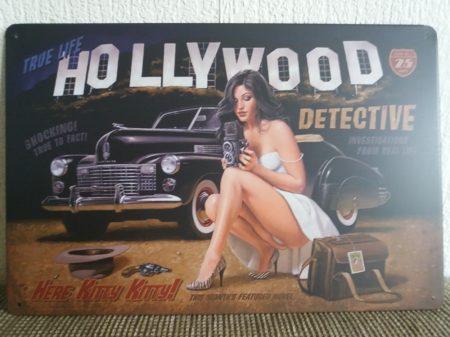 fém kép: Hollywood detective
