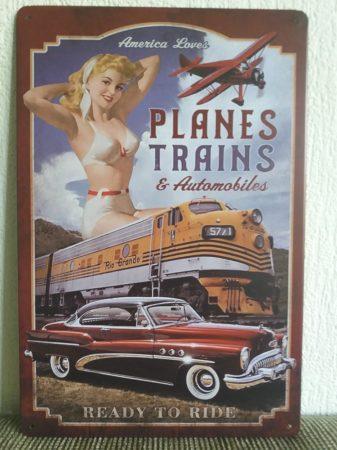 fém kép: planes trains