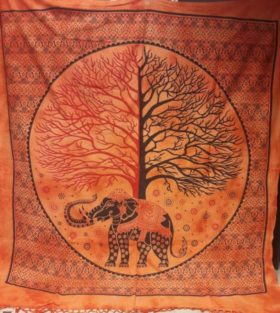 Elefántos életfa takaró