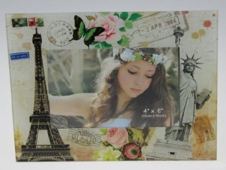 Üveg fotókeret /Párizs/