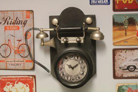 Telefon formájú vintage óra