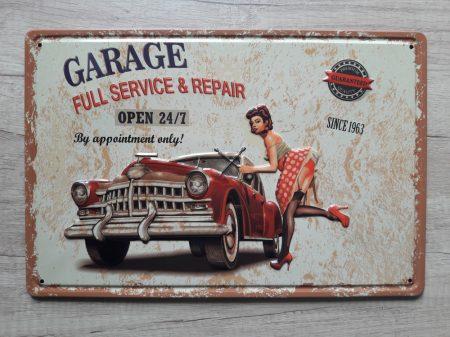 fém kép: Garage - since 1963