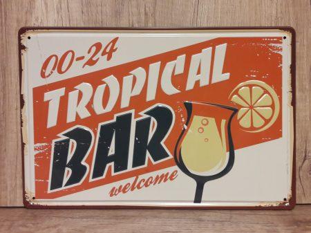fém kép: Tropical bar