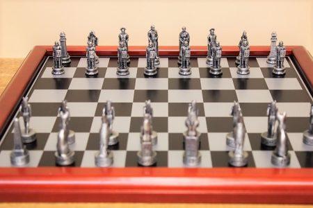 Egyiptom Róma sakk készlet