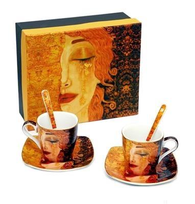 Klimt kávéskészlet