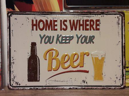 fém kép: home is where you keep your