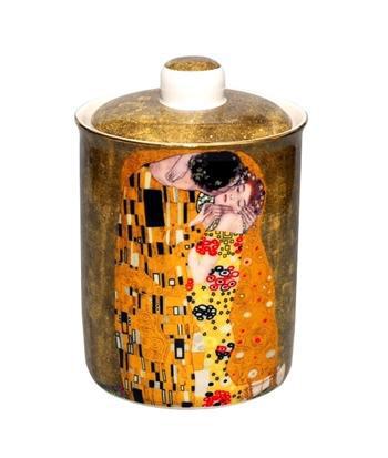 Klimt porcelán tároló