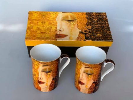 Klimt pohár díszdobozban