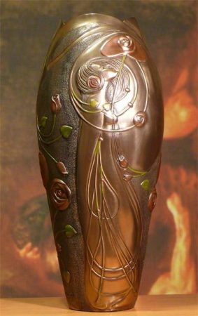 Szecessziós váza