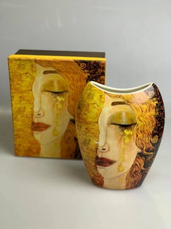 Klimt váza díszdobozban