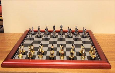 Egyiptomi sakk készlet