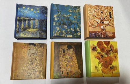 Fotóalbum Klimt , Van Gogh
