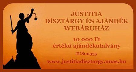 Justitia ajándékutalvány 10000Ft