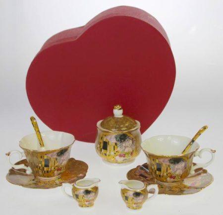 Klimt teázós szett