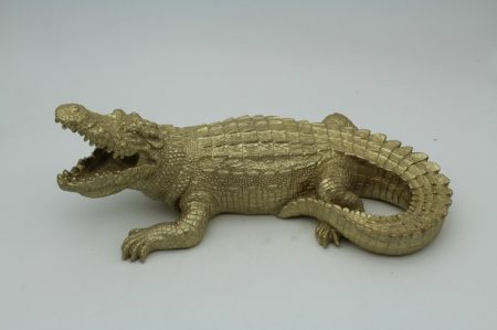 Krokodil szobor