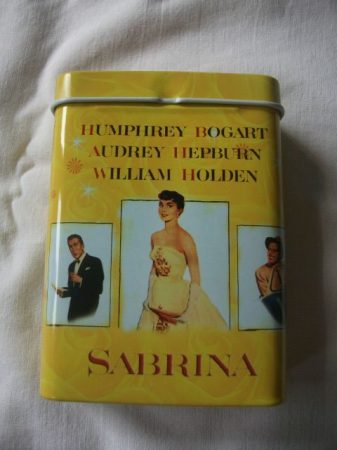Audrey Hepburn cigarettatartó doboz