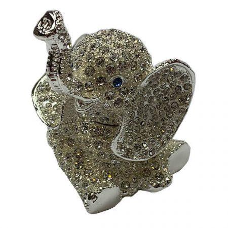 Elefántos ékszertartó