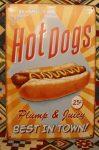 fém kép: Hot dogs, best in town