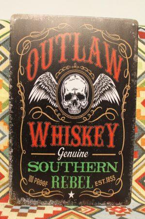 fém kép: Outlaw whiskey